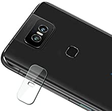 GUOHUN Screen Protector Protective 0.3mm 2.5D Transparent Rear Camera Lens Protector Tempered Glass Film for Asus Zenfone 6 Glass Film