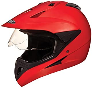 Studds MotoCross Helmet Matt Red (L)