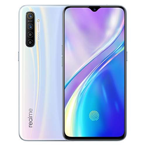 "realme X2 Smartphone Cellulari, 6.4"" 8 GB RAM 128 GB ROM Snapdragon 730G 64MP Camera 30W VOOC Flash Charge 4.0, Versione Europea (Bianco)"