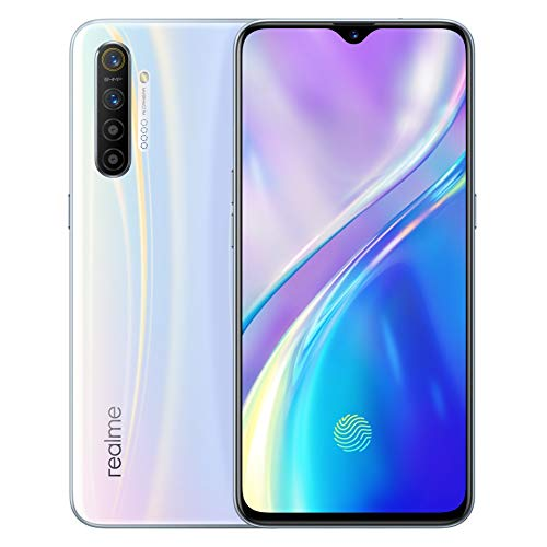 realme X2 8 GB 128 GB Smartphone Handy, 6,4 '' Snapdragon 730G 64MP Hawk Eye Quad Kamera NFC, Europäische Version (Weiß)