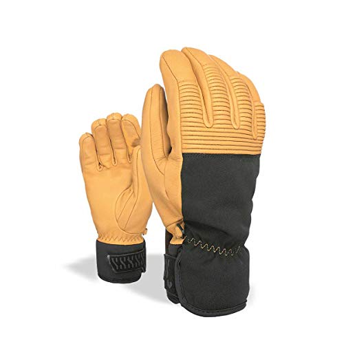 Level Wrangler PK Gants Homme, Marron, 7