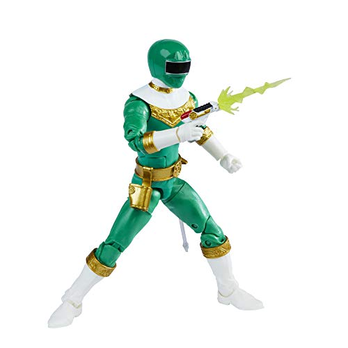 Power Rangers Lightning Collection Zeo IV Green 6-Inch Premium Collectible Action Figure Toy with Accessories