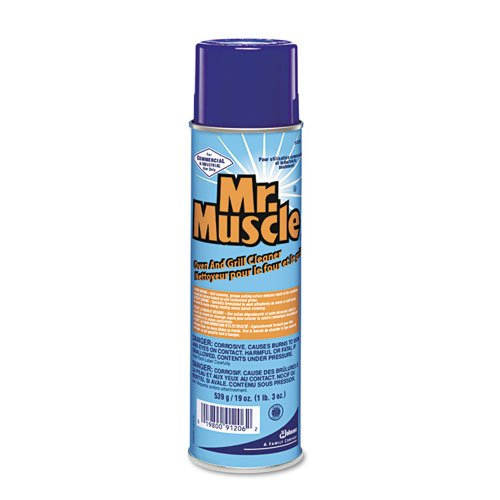 Mr. Muscle Oven And Grill Cleaner, 19 oz. Aerosol