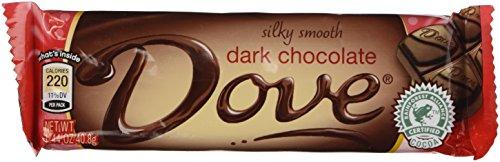 Dove Dark Chocolate Bars Silky Smooth 18 Count of 1.44 Oz Bars