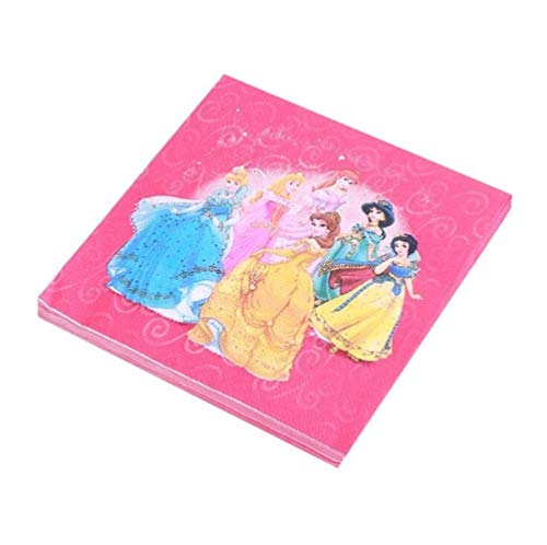 ERFHJ prinses Elsa motto party taart topper sjaal met sneeuwjurk wit cake decoratie meisjes verjaardagsfeest accessoires taart topper, 20 stuks