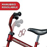 Chicco Red Bullet Bicicletta Bambini Senza Pedali 2-5 Anni, Bici Senza Pedali Balance Bike per l'Equilibrio, con Manubrio e Sellino Regolabili, Max 25 Kg, Rosso, Giochi Bambini 2-5 Anni #3