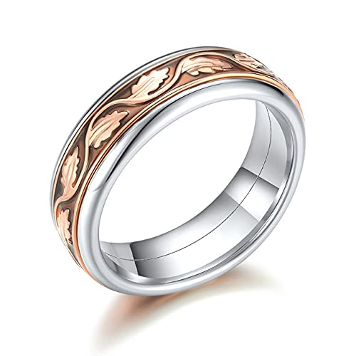 ISMILE Women'S Accessories Stainless Steel Vintage Interchangeable Stacking Rings And Rings