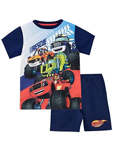 Blaze and the Monster Machines Boys' Pajamas Blue Size 5