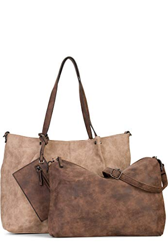 Maestro Surprise Bag in Bag Shopper Tasche 45 cm