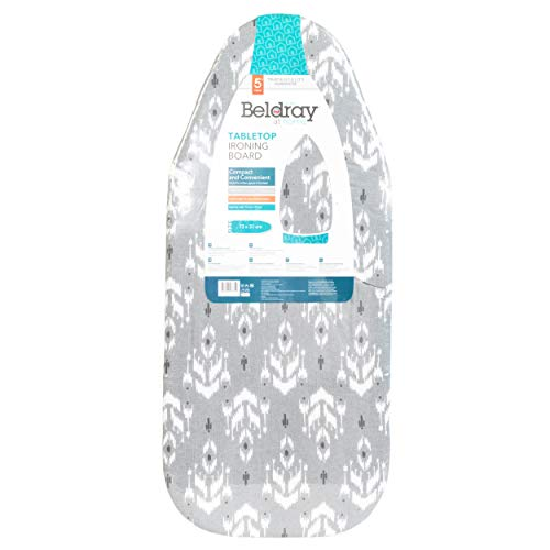 Beldray LA023735IKATEU7 Table Top Ironing Board, Compact and Lightweight,...