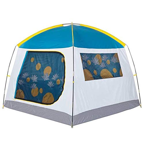 LXF JIAJU Tienda Al Aire Libre Conveniente Carpa Gruesa Impermeable Protector Solar 2-3 Personas Tienda De Campaña (Color : Blue, Size : 190 * 190 * 155CM)