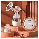 LIUSHENGFUBH Elektrische Milchpumpe Brustpumpe Elektrische Brustpumpe, stillende Pumpe tragbare...