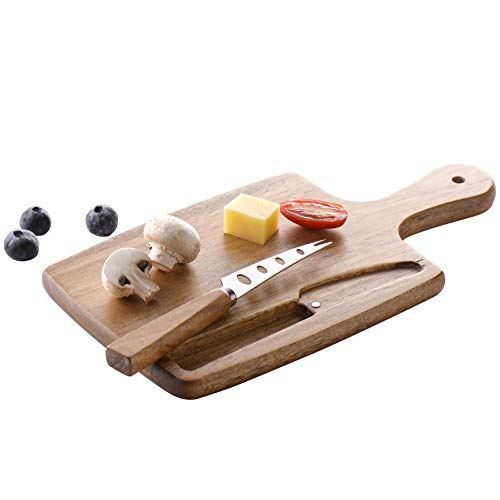 Home Mini Cutting Board With Magnetic Knife Small Fruit...