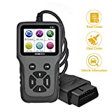 Friencity OBD2 Scanner, Automotive Engine Light Check Car Code Reader with Full OBDII