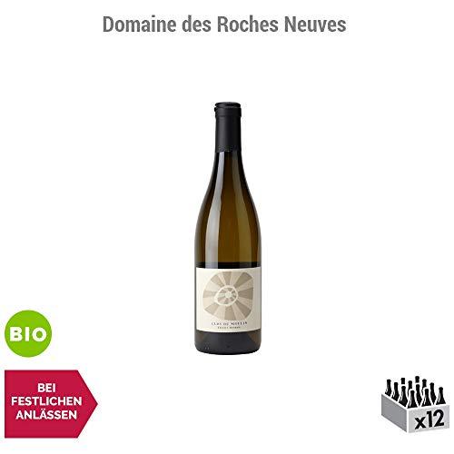 Saumur Le Clos du Moulin Weißwein 2015 - Bio - Domaine des Roches Neuves - g.U. - Loiretal Frankreich - Rebsorte Chenin - 12x75cl