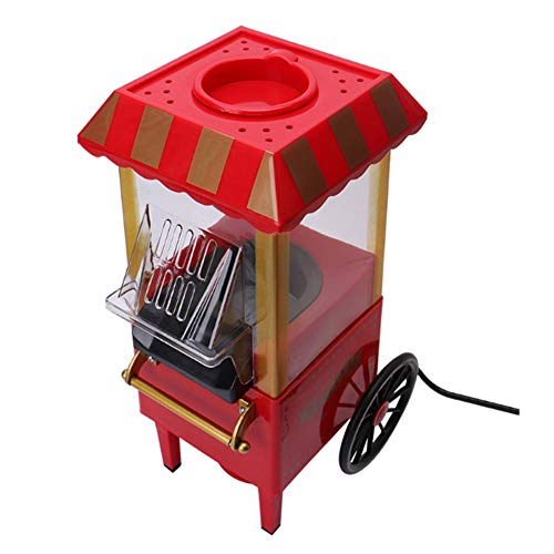Fantastic Prices! ZAAQ 220V Useful Vintage Retro Electric Popcorn Popper Machine Home Party Tool