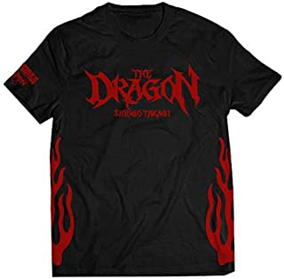 鷹木信悟 × L・I・J THE DRAGON Tシャツ S