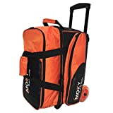 Moxy Bowling Products Blade Premium Double Roller Bowling Bag- Orange/Black