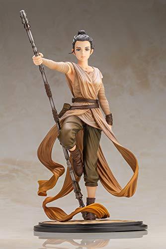 Kotobukiya Star Wars Rey Artist Series Descendant of Light ARTFX Statue image
