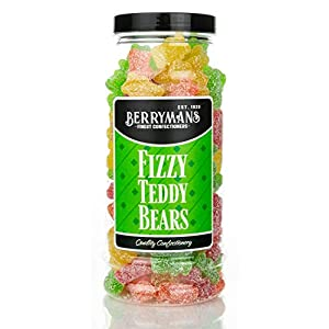original fizzy jelly teddy bears retro sweets gift jar by berrymans sweet shop - classic sweets, traditional taste. Original Fizzy Jelly Teddy Bears Retro Sweets Gift Jar by Berrymans Sweet Shop – Classic Sweets, Traditional Taste. 41fiDcp4nCL