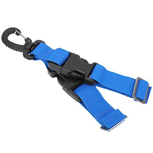 VGEBY Buceo Correas de Aleta Aletas de Buceo Hebillas de liberación rápida Accesorios para natación Buceo Buceo(Azul)