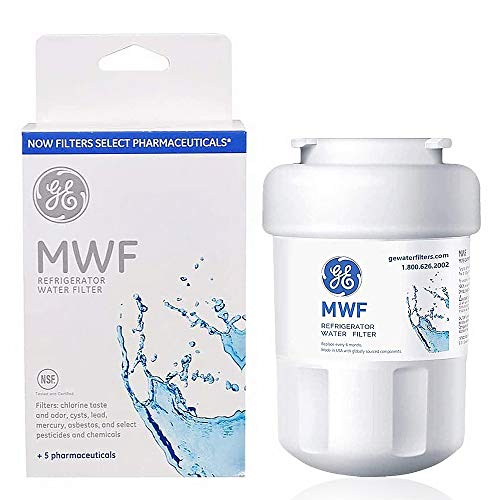 MWF Water Filter Replacement for GE SmartWater Refrigerator Compatible with GE MWF, Kenmore 9991, 469991, MWFA, MWFP, GWF, GWFA, GWF06 (1 Pack)
