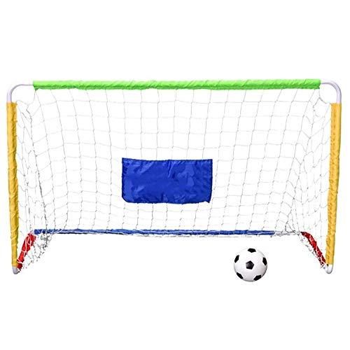 ZAIHW Football Post Soccer Goal Target Net Football Shooting Training Aid Ultimate Backyard Outdoor Kids Official Soccer Goal