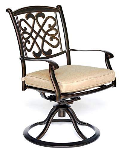 Rabbfay Modern Bedroom Furniture Patio High Texture Backrest Glider Chairs Swivel Rocker Garden Backyard Chairs,A