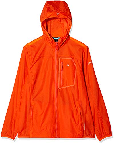 Schöffel Damen Windbreaker Jacke L2, Mandarin red, 34