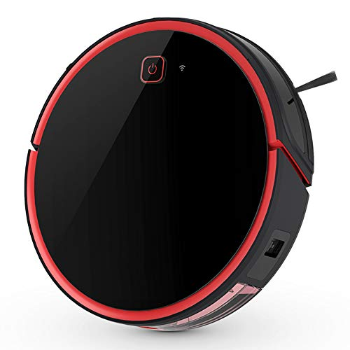 Best Bargain JINRU Robot Vacuum Cleaner,Sweeping and Mopping 2 in 1,WI-FI Connected,1800Pa Strong Su...