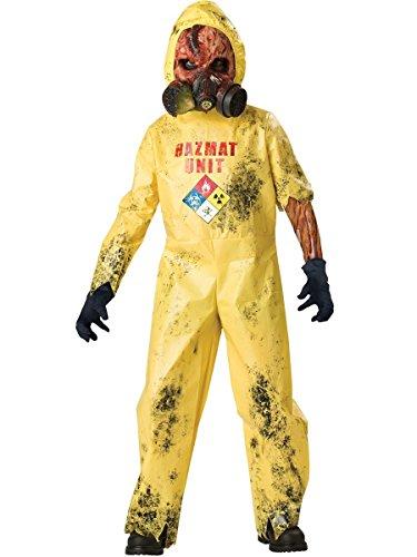 Hazmat Hazard Costume - Medium