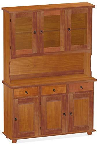 Brasilmöbel Highboard Kirschbaum Rio Classico Esszimmer Holz Pinie Massivholz Echtholz Farbe wählbar