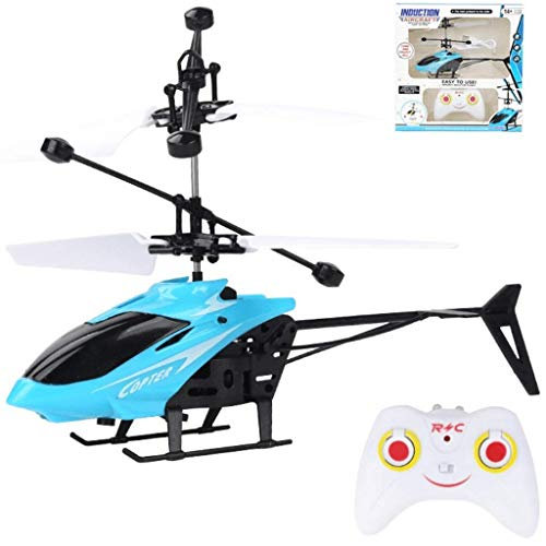 Remote Control Helicopter - 2 Channel RC Helicopter with Gyro - Remote Helicopter Toys for Boys and Girls - Helicopter Flying Toy for Kids, Toddlers and Adults