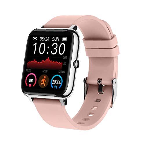 Smart Watch Fitness Tracker Bracelet Activity Pedometer P22 Black Heart Rate Waterproof for Women Men Android
