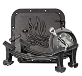 US Stove BSK1000 Cast Iron Barrel Stove Kit