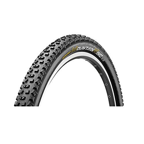 Continental–Neumático para bicicleta 29ER–Mountain King II 2,4blk-blk plegable 28x 2,4