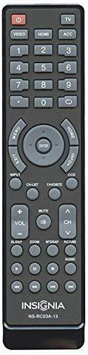 Insignia NS-RC03A-13 TV Remote Control - OEM - (NSRC03A13 118020397 601120020A 158141 601120020B 49.31S39.003 398GRABDANEBYJ 398GRABDANEBYH)
