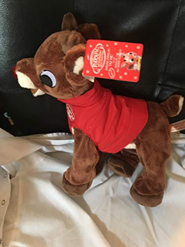 Dandee International. 14 Inch Rudolph The Red Nosed Reindeer Animated Musical Light Up Plush