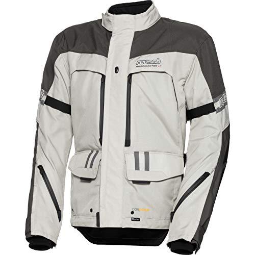 Reusch Motorradjacke mit Protektoren Motorrad Jacke Roadmaster LT Jacke grau L, Herren, Tourer, Ganzjährig, Textil
