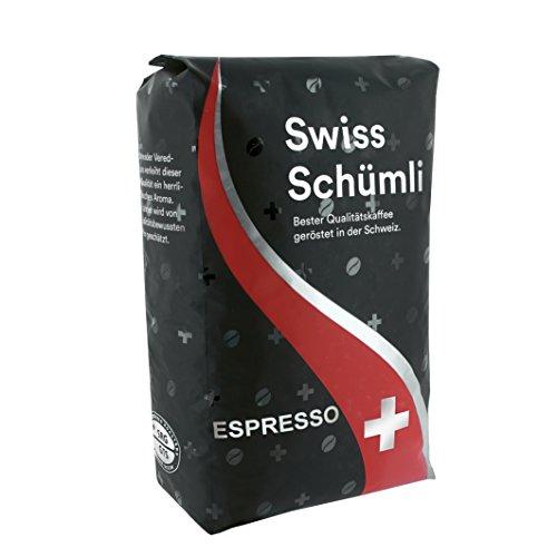 Bogen Kaffee Swiss Schümli Espresso 1000 g Bohnen, 1er Pack