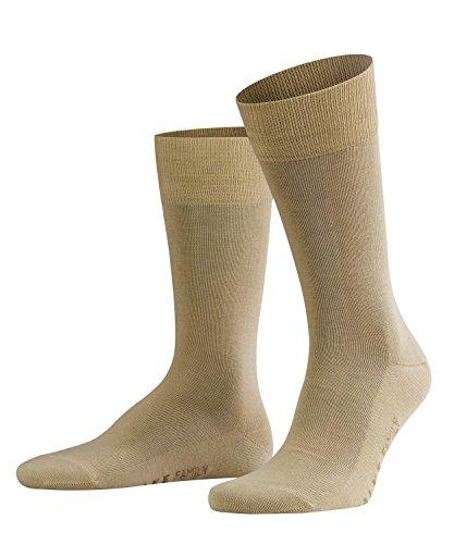 FALKE Herren Socken Family - 94prozent Baumwolle, 1 Paar, Beige (Sand 4320), Größe: 43-46