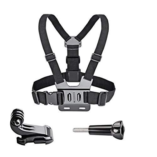 YYCH Tira Ligera llevada Cinturón de Pecho Ajustable arnés for GoPro HD Hero SJ4000 cámara 8 7 6 5 4 3 3 Y SJ5000 Deportes (Colour : Package 1)