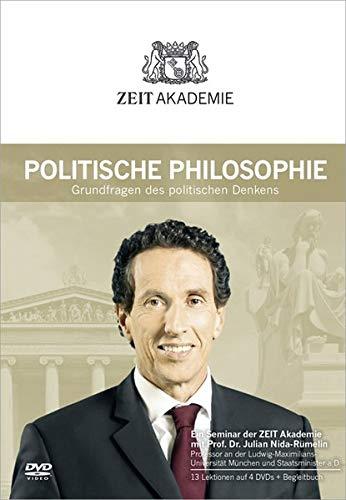 ZEIT Akademie Politische Philosophie, 4 DVDs m. Begleitbuch