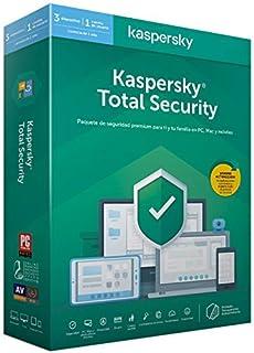 comprar comparacion Kaspersky 2020 Total Security - Antivirus, 3 Licencias, 1 Año