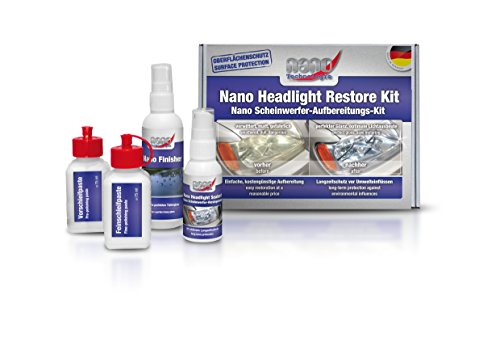 Bluechem Nano Koplamp Herstel & Auto Lichten Plastic Coating Kit Perfect Glans