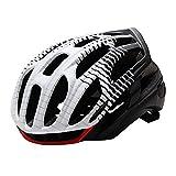 CascosDeCiclismoYBMXIntegrales Casco de Bicicleta de montaña de Carretera Casco de Ciclismo MTB Ultraligero para Hombre con luz Trasera LED Equipo Deportivo Seguro-re_Metro