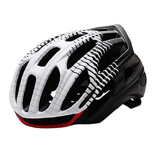 OffRoadHelm Rennrad Mountainbike Helm Mann Ultraleichter MTB Fahrradhelm Mit LED Rücklicht Sport Safe Gear-D_M.