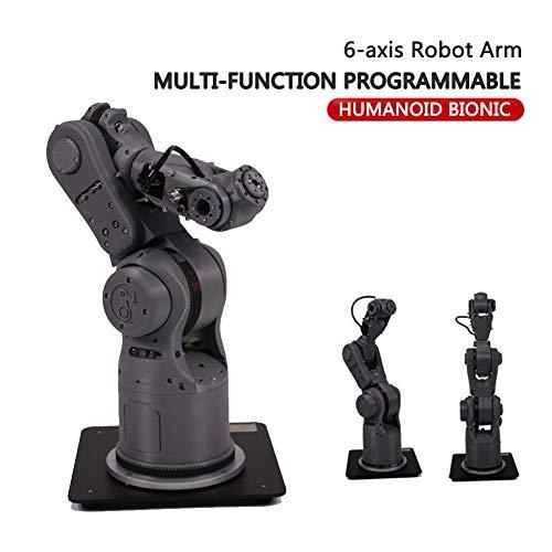K.K 6 Achsen Mechanischer Roboterarm roboterarm programmierbar Multifunktion Automatischer Schweißroboter Geeignet zum Schreiben und Lackieren Sprühen CNC-Klemmen