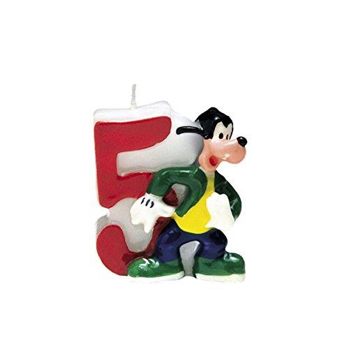 Vela número 5 de Mickey Clubhouse?