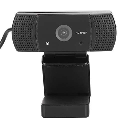 T osuny Computadora USB Cámara Web HD Micrófono Incorporado, Videoconferencia de Escritorio Cámara Digital 1080P con trípode, para Todos los Sistemas operativos(Negro)
